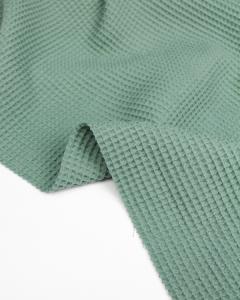 Cotton Waffle Fabric - Moonstone
