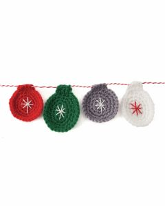 Craft Kit - Crochet Bauble Garland