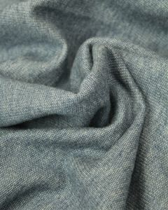 Cotton French Terry Fabric - Denim Blue