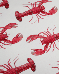 Home Furnishing Fabric - Double Width - Cape Lobster Red