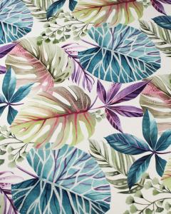 Home Furnishing Fabric - Double Width - Trebah Opal