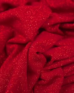 Polyester Jersey Fabric - Cranberry Sparkle
