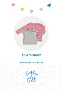 Poppy & Jazz - Paper Sewing Pattern - Elm T-Shirt