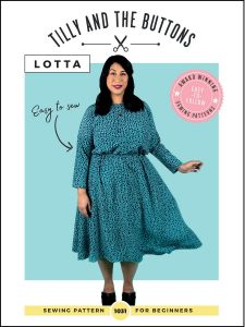 Tilly & The Buttons Lotta Dress paper pattern cover