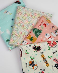 Christmas Fat Quarter Bundle - Festive Friends