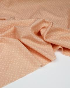 Fine Cotton Jacquard Fabric - Bellini Sprig
