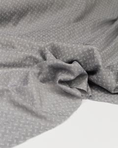 Fine Cotton Jacquard Fabric - Cloud Sprig