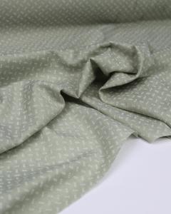 Fine Cotton Jacquard Fabric - Elderflower Sprig