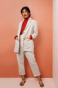 Friday Pattern Co - Paper Sewing Pattern - The Heather Blazer