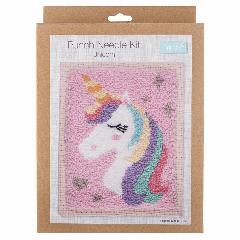 Punch Needle Kit - Unicorn
