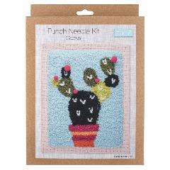 Punch Needle Kit - Cactus
