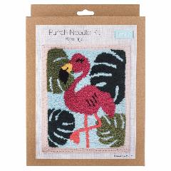 Punch Needle Kit - Flamingo