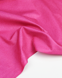 Glitter Patchwork Fabric - Fuschia