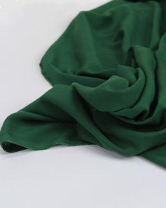 Viscose Challis Lawn Fabric - Emerald