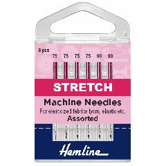 Hemline Sewing Machine Needles - Stretch Assorted