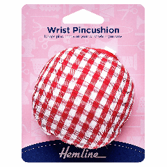 Wrist Pin Cushion - Classic Gingham