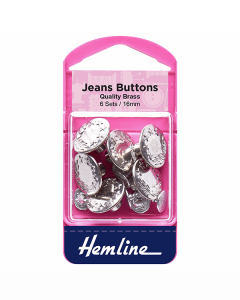 Jeans Buttons - Nickel