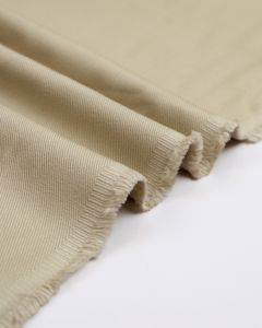 Heavy Cotton Drill Fabric - Stone
