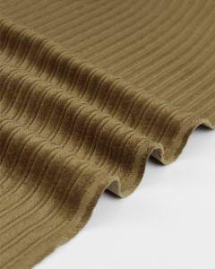 High Low Jumbo Cord Fabric - Hazel