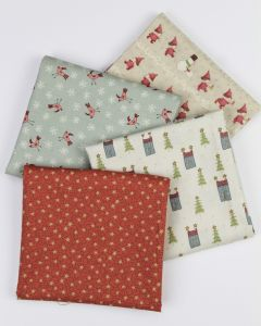 Christmas Fat Quarter Bundle - Home for Christmas
