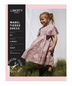 Liberty - Paper Sewing Pattern - Mabel Tiered Dress