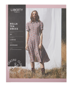 Liberty - Paper Sewing Pattern - Bella Tea Dress