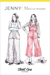 Closet Core - Paper Sewing Pattern - Jenny Overalls & Trousers