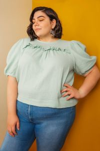 Friday Pattern Co - Paper Sewing Pattern - The Sagebrush Top