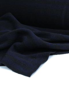 Knit Coating Fabric - Midnight Stripe