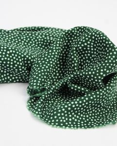 Viscose Challis Lawn Fabric - Dotty About Dots Bottle