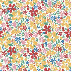 Liberty Patchwork Cotton Fabric - Carnaby - Bohemian Bloom Summer