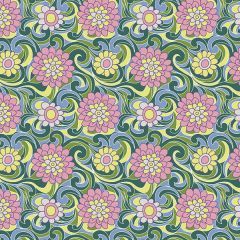 Liberty Patchwork Cotton Fabric - Carnaby - Carnation Carnival Spring