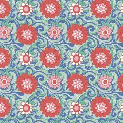 Liberty Patchwork Cotton Fabric - Carnaby - Carnation Carnival Summer