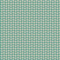 Liberty Patchwork Cotton Fabric - Carnaby - Daisy Dot Green