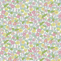 Liberty Patchwork Cotton Fabric - Carnaby - Piccadilly Poppy Spring Morning