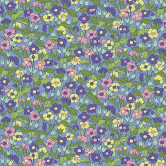 Liberty Patchwork Cotton Fabric - Carnaby - Piccadilly Poppy Spring Eve
