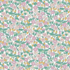 Liberty Patchwork Cotton Fabric - Carnaby - Piccadilly Poppy Summer Morning