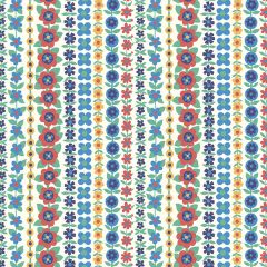 Liberty Patchwork Cotton Fabric - Carnaby - Soho Stripe Summer