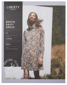 Liberty - Paper Sewing Pattern - Bertie Shift Dress