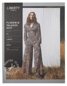 Liberty - Paper Sewing Pattern - Florence Palazzo Suit
