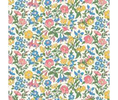 Liberty Patchwork Cotton - Flower Show Midsummer - Mamie