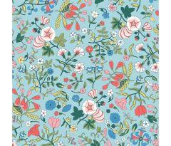 Liberty Patchwork Cotton Fabric - Flower Show Midsummer - Wildflower Field