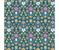 Liberty Patchwork Cotton Fabric - Flower Show Midsummer - Hampstead Meadow