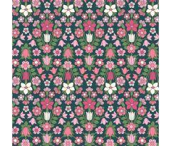 Liberty Patchwork Cotton Fabric - Flower Show Midsummer - Hampstead Meadow Pink