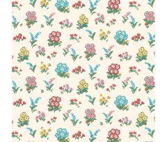Liberty Patchwork Cotton Fabric - Flower Show Midsummer - Kensington Gardens