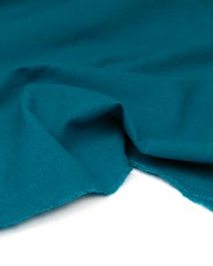 Linen & Cotton Blend Fabric - Kingfisher