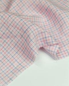 Pure Linen Fabric - Parfait Check