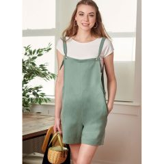 McCall's Pattern 8204 - Learn to Sew Dungarees