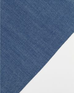 Medium-Weight Cotton Denim Fabric - Jeans Blue