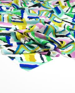 Micro Crepe Fabric - Athena Ocean